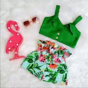 NEW Toddler Girl 2 Piece Fashion Set Custom 24 Mo.